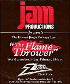 Jam Flamethrower...toppakket!