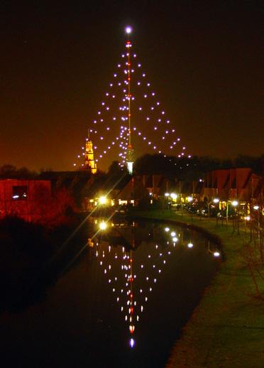 De grootste kerstboom ter wereld!